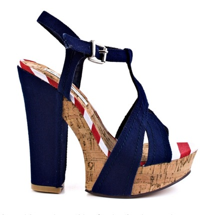Naughty Monkey Blue Sandal