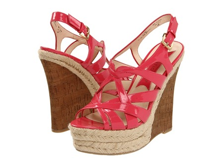 Botique 9 Flower Wedge Sandal