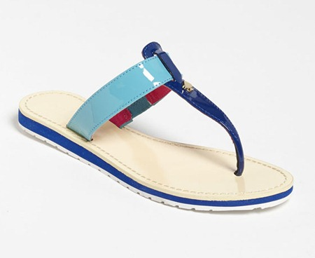 Kate Spade Blue Sandal