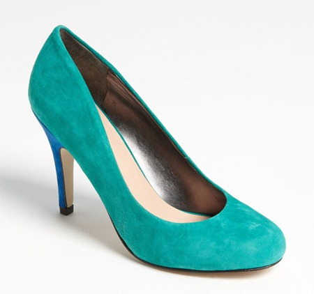 Sole Society Casey Pump Emerald